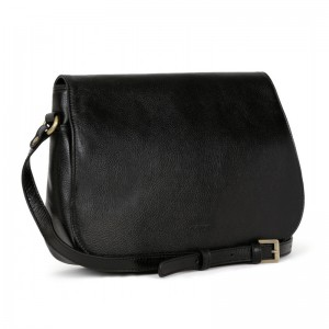 Dámská kožená kabelka Hexagona Giada - černá