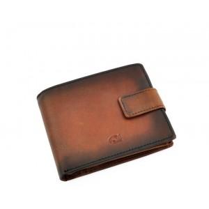 Pánská kožená peněženka Daag P05 - hnědá