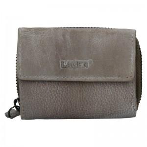 Dámská kožená peněženka Lagen Carmen - taupe