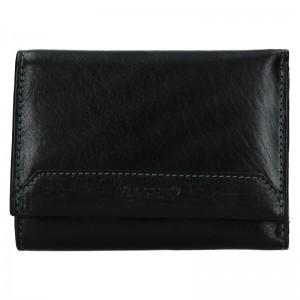 Dámská kožená peněženka Lagen Jarmila - černá