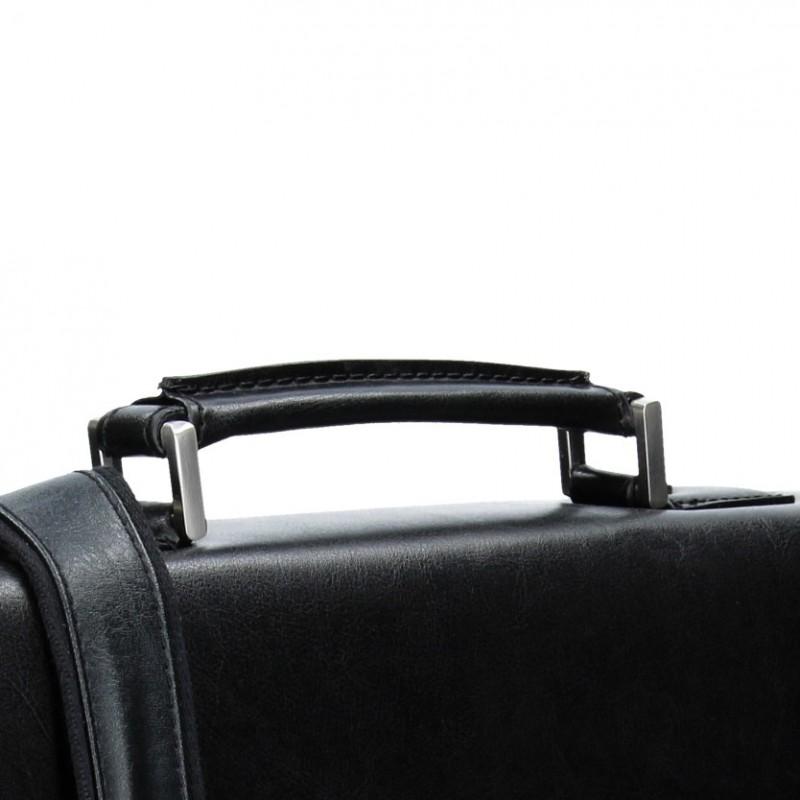 Pánská kožená aktovka Katana Baron - černá