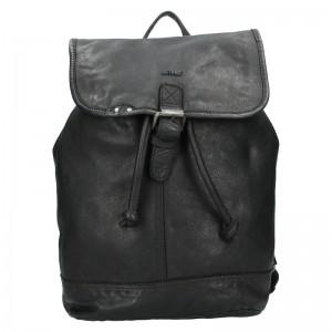 Kožený batoh Justified Ineo - černá
