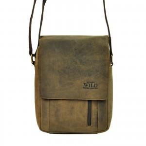 Pánská taška přes rameno Always Wild Janko - hnědá