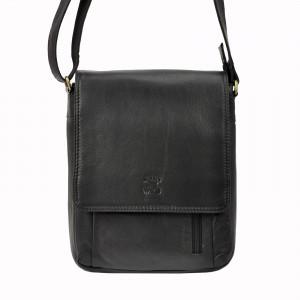 Pánská kožená taška Always Wild Ignac - černá