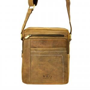 Pánská taška přes rameno Always Wild Frencis - hnědá