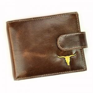 Pánská kožená peněženka Wild Buffalo Emils - hnědá