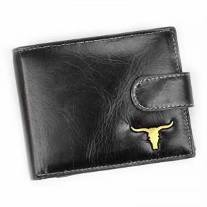 Pánská kožená peněženka Wild Buffalo Emils - černá