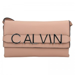 Dámská crossbody kabelka Calvin Klein Europa - růžová