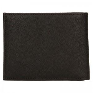 Pánská kožená peněženka Calvin Klein Bifol - zelená
