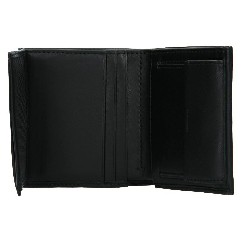 Pánská kožená peněženka Calvin Klein Tifol - černá
