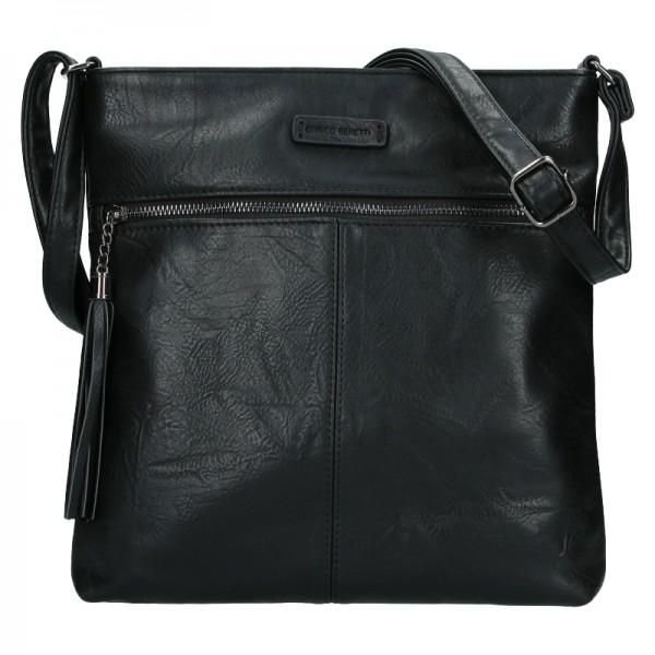 Dámská crossbody kabelka Enrico Benetti 66233 - černá