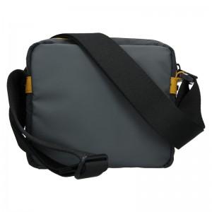 Pánská taška přes rameno Lerros Zarro - černo-žlutá