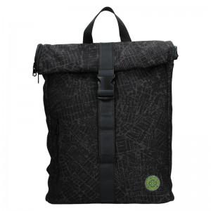 Pánský batoh Lerros Ursus - černo-šedá