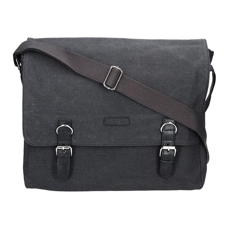 Pánská taška Katana Toile - černá