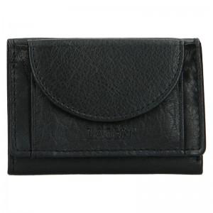 Dámská kožená slim peněženka Lagen Mellba - černá