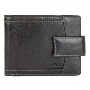 Pánská kožená peněženka Lagen Alsung - černá
