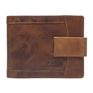 Pánská kožená peněženka Lagen Alsung - světle hnědá
