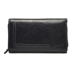 Dámská kožená peněženka Lagen Anitas - černá