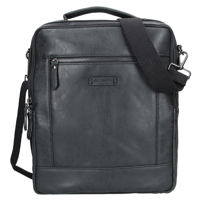 Trendy batoh/taška Enrico Benetti Nikk - černá
