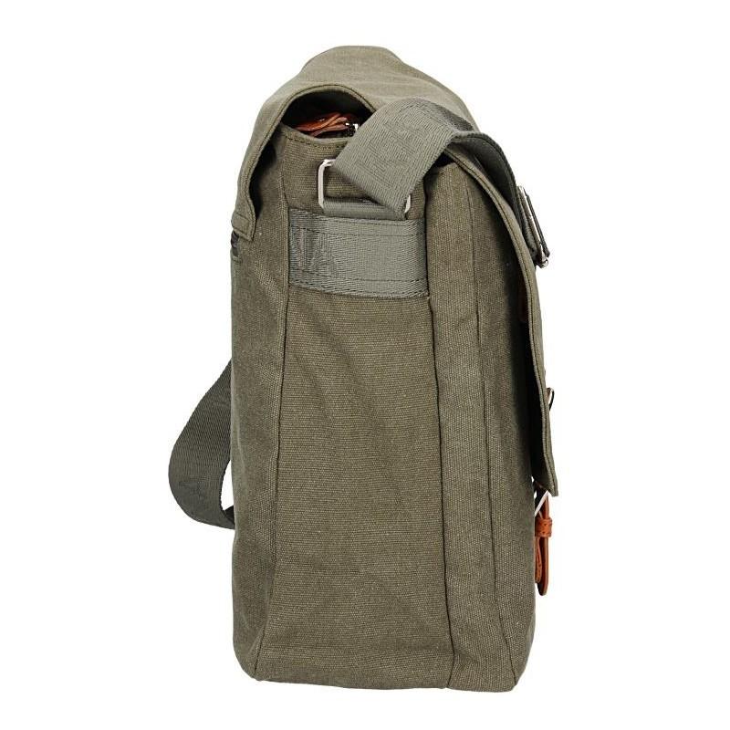 Pánská taška Katana Toile - zeleno-šedá