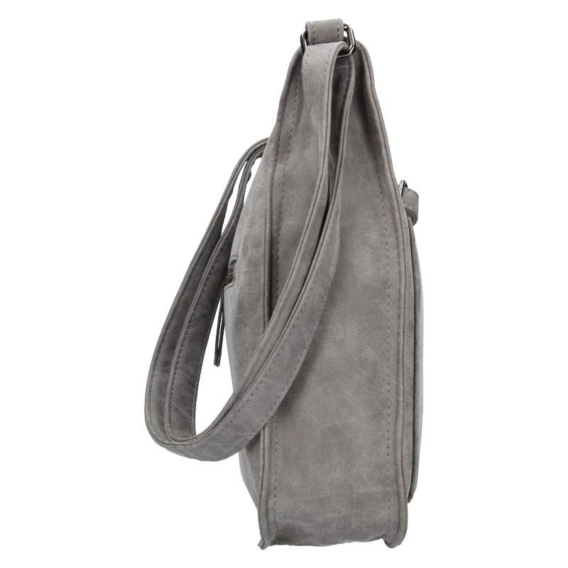 Dámská crossbody kabelka Enrico Benetti Madet - šedá