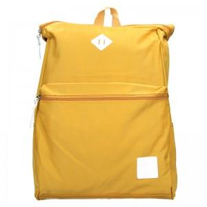 Trendy batoh New Rebels Selesta - žlutá