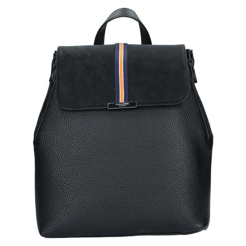 Elegantní dámský batoh Hexagona Lili - černá