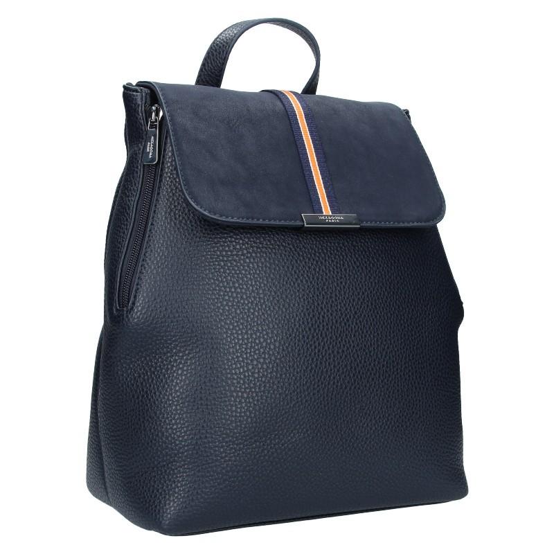 Elegantní dámský batoh Hexagona Lili - tmavě modrá