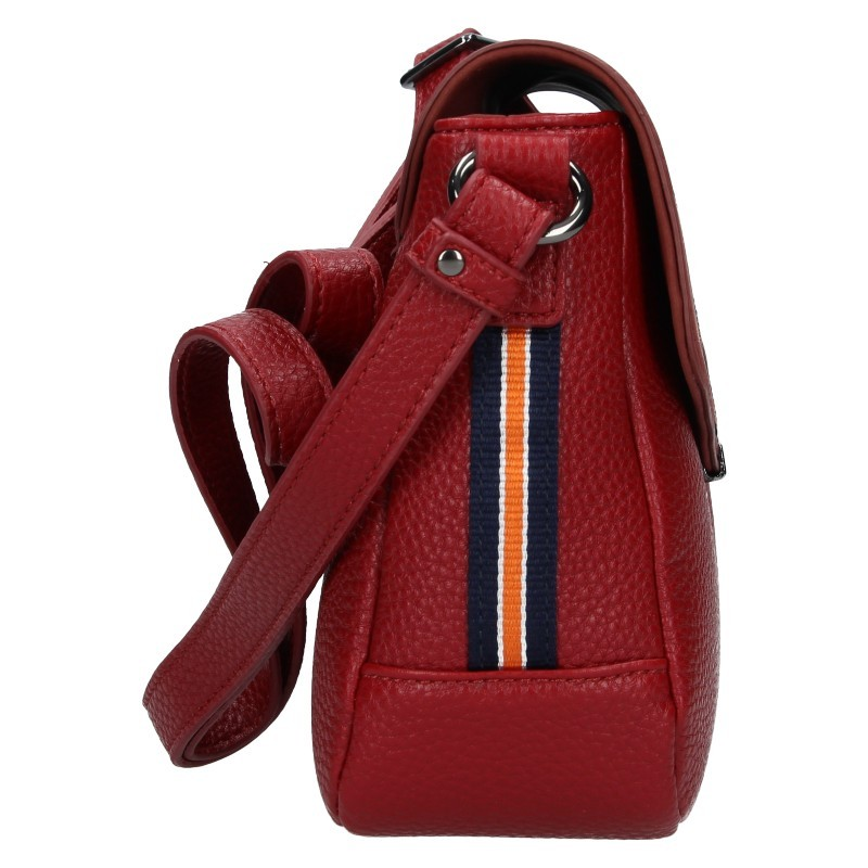 Dámská crossbody kabelka Hexagona Nikoll - tmavě červená