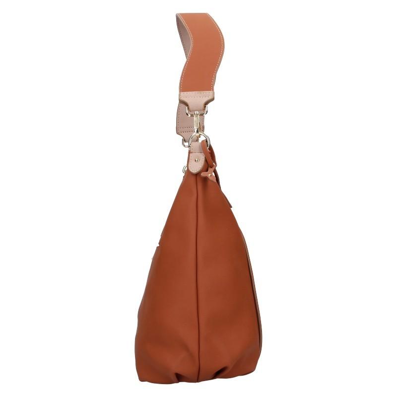 Dámská kabelka Hexagona Caola - hnědá
