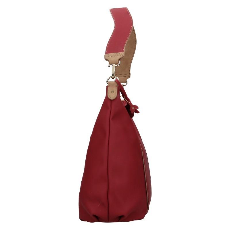 Dámská kabelka Hexagona Caola - vínová