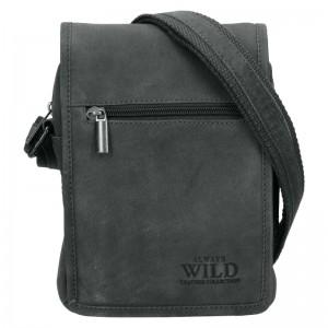 Pánská taška přes rameno Always Wild Igor - šedá