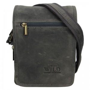 Pánská taška přes rameno Always Wild Vilden - šedá