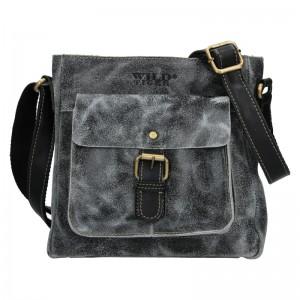 Pánská taška přes rameno Always Wild Brynjar - čierna