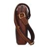 Pánská kožená taška přes rameno SendiDesign Marlon - hnědá