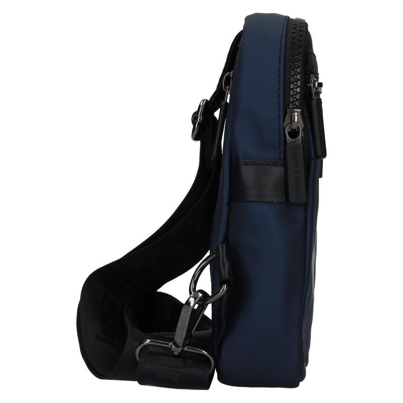 Pánská taška přes rameno Justin & Kelvin Cross - modrá