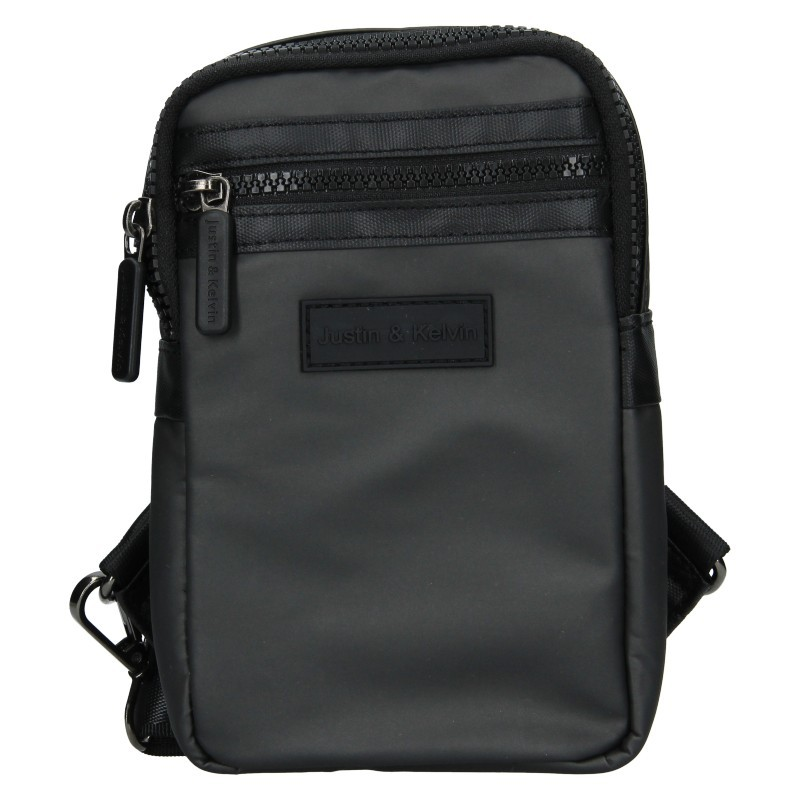 Pánská taška přes rameno Justin & Kelvin Cross - šedá