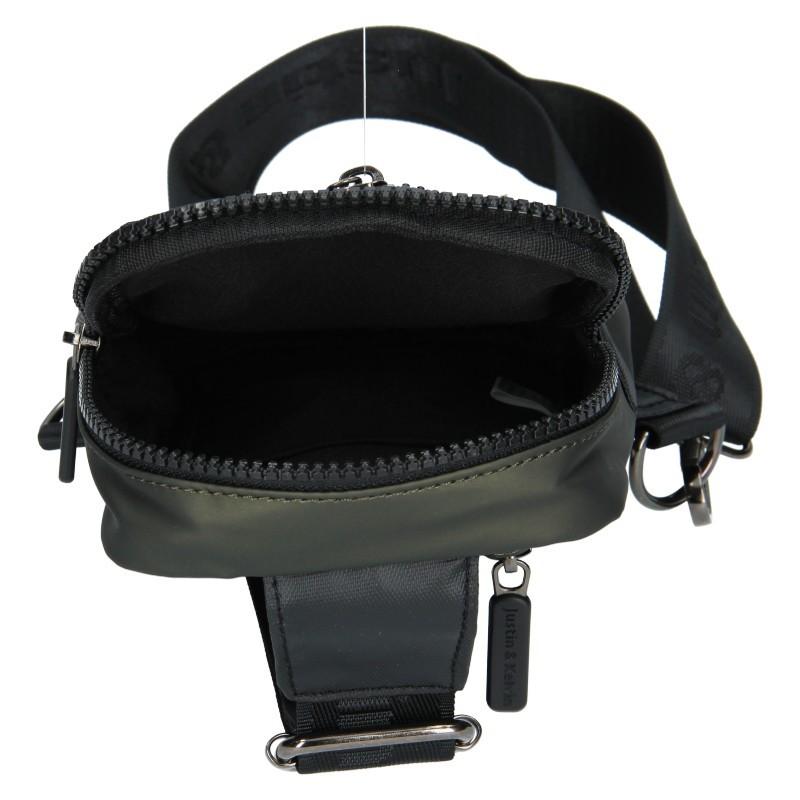 Pánská taška přes rameno Justin & Kelvin Cross - zelená