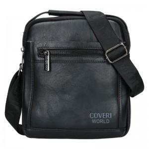 Pánská taška přes rameno Coveri World Albert - černá