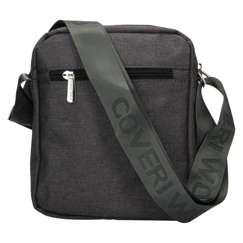 Pánská taška přes rameno Coveri World Edvin - šedá