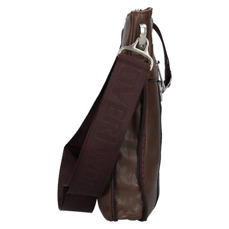 Pánská taška přes rameno Coveri World Tom - hnědá