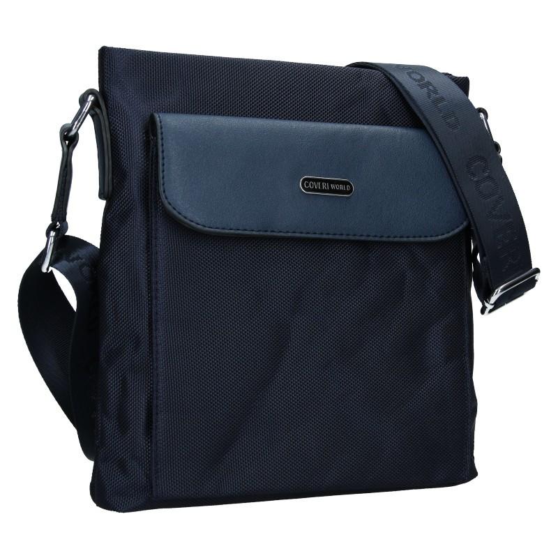 Taška přes rameno Coveri World Amsterdam - modrá