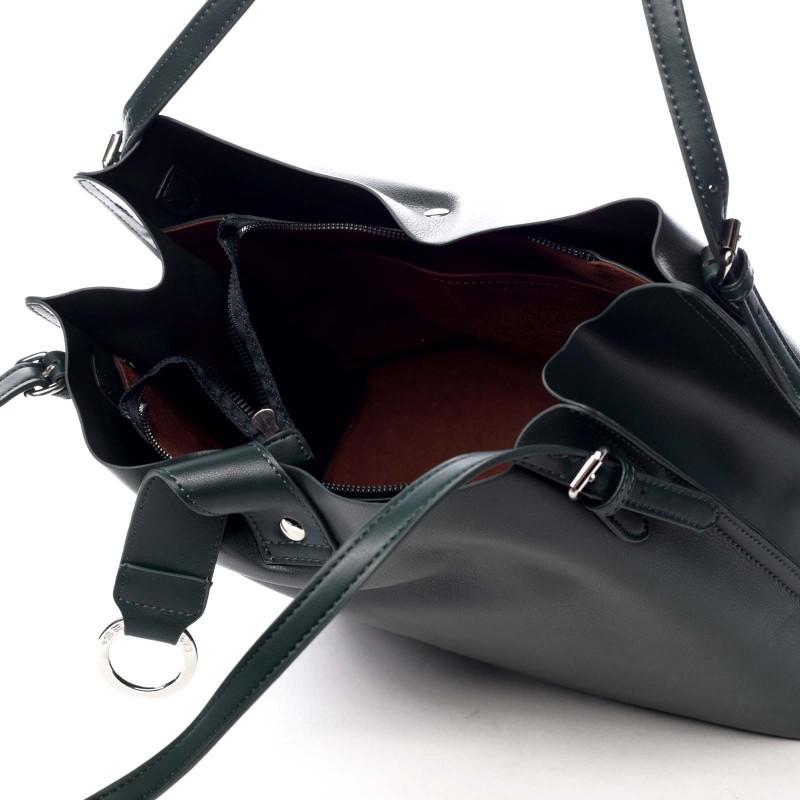 Dámská kabelka David Jones Viole - tmavě zelená