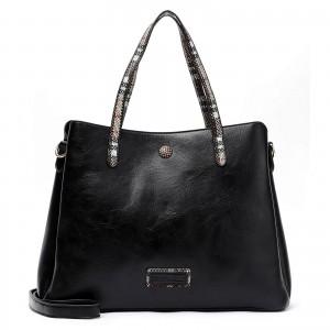 Dámská kabelka Emily & Noah Gisel - černá