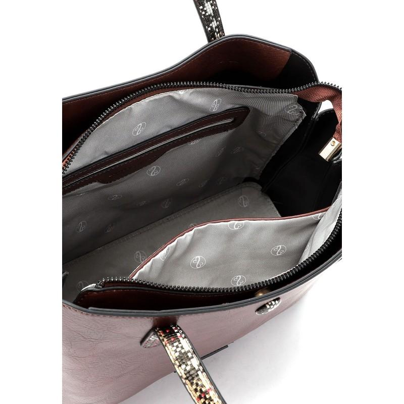 Dámská kabelka Emily & Noah Gisel - hnědá