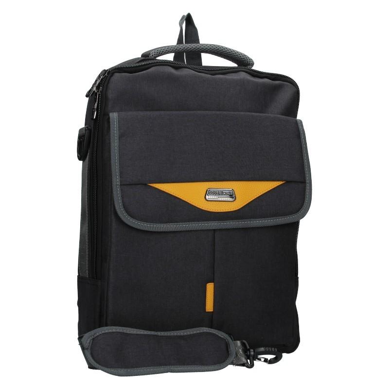 Pánský batoh Coveri World London - černá