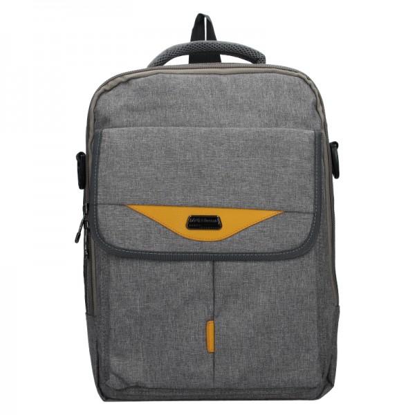Pánský batoh/taška Coveri World London - šedá
