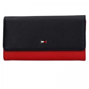 Dámská peněženka Tommy Hilfiger Jeans Yolanda - červeno-modrá