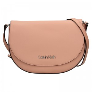 Dámská crossbody kabelka Calvin Klein Stacy - růžová