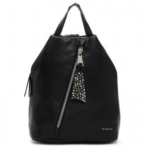 Elegantní dámský batoh Emily & Noah Nicol - černá